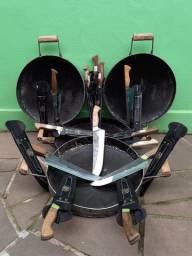 facas de disco de arado e disco pra entrevero