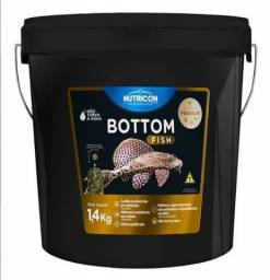 Ração Bottom Fish 1,4kg Nutricon Para Aquario