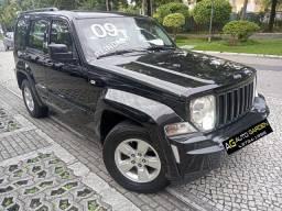 Jeep Cherokee Sport 2009 3.7 V6 Blindada n3a 4x4 aut tolinha novíssima!!!