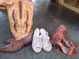 Coleção 3 calçados femininos - Várias Marcas