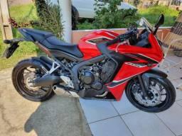 Vendo moto cbr 650f zero