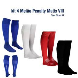 Kit Meião Futebol Matis Penalty VIII - 2 pares de meia
