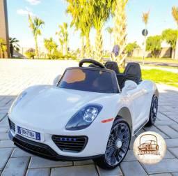 Carrinho elétrico de controle Remoto - Porsche