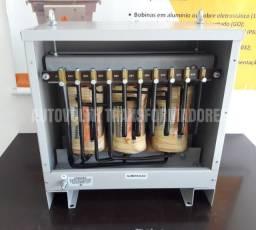 Autotransformador 50kVA trifásico 220v p / 380v + N IP21