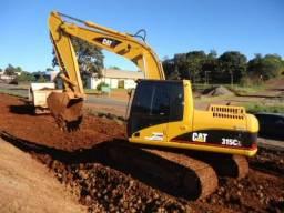 Título do anúncio: Escavadeira Caterpillar Entrada + Parcelas