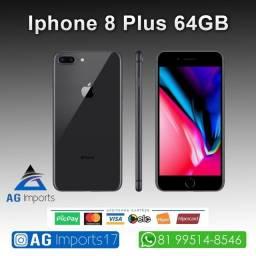 Título do anúncio: iPhone 8 Plus Preto 64GB - Aparelho de Vitrine - Sem marcas de Uso
