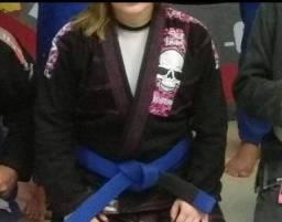 Título do anúncio: Kimono Jiu-jitsu Feminino Kvra