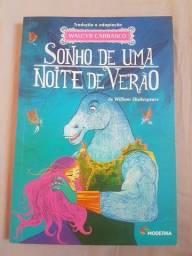 Título do anúncio: Livro Sonho de uma noite de verão só 18reais