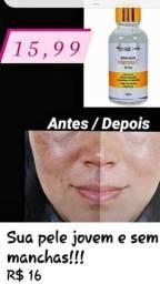 Sérum facial de vitamina C