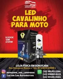 Título do anúncio: UMA LOJA ESPECIALIZADA EM ILUMINAÇÃO AUTOMOTIVA,LAMPADA DE LED PARA MOTO CAVALINHO