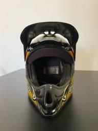 Título do anúncio: Capacete motocross ASW