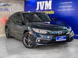 Título do anúncio: Honda Civic EX 2.0 Completo 2020 Flex Azul cósmico