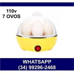 Título do anúncio: Cozedor de Ovos A vapor 110v * Até 7 ovos * Fazemos Entregas