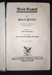 Mein Kampf - escrito por Adolf Hitler, 2ª edição, 1934