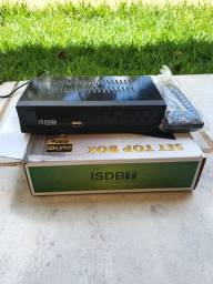 Título do anúncio: Conversor P/TV  digital set pot box receptor tv gravador full HD