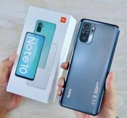Smartphone Xiaomi Redmi Note 10 4GB/128GB - Novo e Lacrado - Parcelas em 12x de 137,50