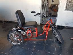 Triciclo motorizado 49cc 4t