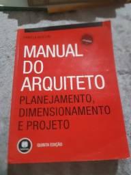 Livros de Arquitetura e Urbanismo.