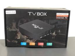 Título do anúncio: Tv box MXQ 4k 5g 128gigas 8 ram