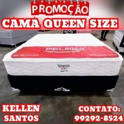 Título do anúncio: Cama Queen - Queen @@