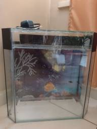 Vende-se aquário com bomba