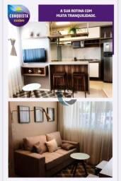 Apartamento com 2 dormitórios à venda, 42 m² por R$ 144.135,00 - Tamatanduba - Eusébio/CE