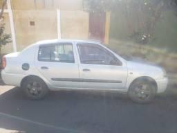 Somente venda Clio sedan 2002 completo