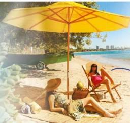 Promoção R$ 379 a vista ou vencimento: ombrelones novos,personalizamos, diametro =2,40