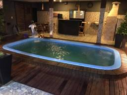Casa 03 suites canaranas com piscina edícula
