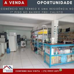 Uma casa mais um ponto comercial em Porto Seguro