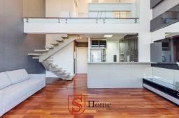 Apartamento duplex 1 quarto e 1 vaga para aluguel no Centro de Curitiba