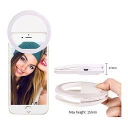 Ring Light Luz Pra Selfie E Flash Fotos Celular Blogueiras