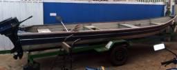 Título do anúncio: Barco de alumínio 6 metros