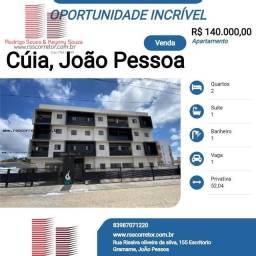 Título do anúncio: Apartamento para Venda em João Pessoa, Cúia, 2 dormitórios, 1 suíte, 1 banheiro, 1 vaga