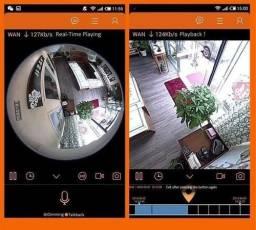 Câmera Espiã 360 Vision Smart Home