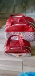 Kit de bolsa termirca novo usa 1 vez
