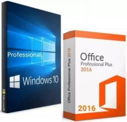 Título do anúncio: Windows 10 + Office 2016