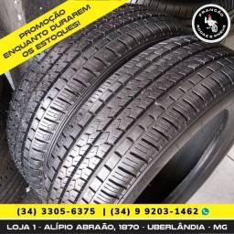 Título do anúncio: Pneus Seminovos Bridgestone 185/65 R15