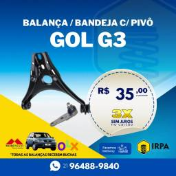 Título do anúncio: Gol G3 Balança / Bandeja c/ Pivô