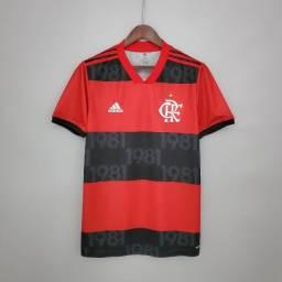 Camisa do Flamengo 2021 Adidas Vermelha