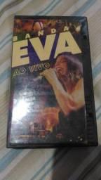 Título do anúncio: Vhs Banda Eva Ao Vivo Fita Original Incluindo Beleza Rara