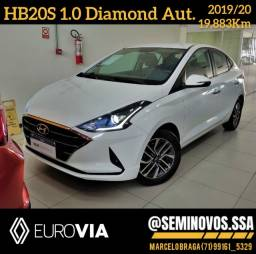 Título do anúncio: HB20S 1.0 Diamond Aut. 2019/19 - Marcelo Braga