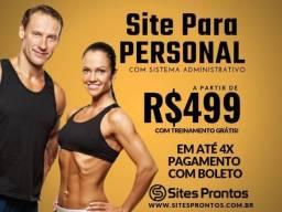 Site para Personal - Promoção R$499