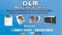 Título do anúncio: Técnico em máquinas de lavar especializado em autorizada