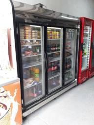 Título do anúncio: Freezer Laticínios 3 portas