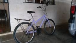 Bicicleta com bagajeiro