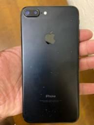Título do anúncio: iPhone 7plus 128 GB Black