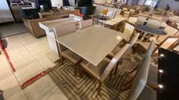 Título do anúncio: Mesa 4 lugares de madeira maciça pronta entrega