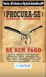 Título do anúncio: Procura barbeiro profissional