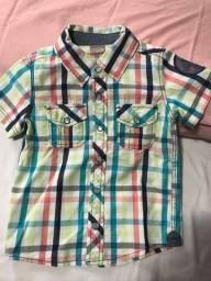 4 Camisas menino 1 ano